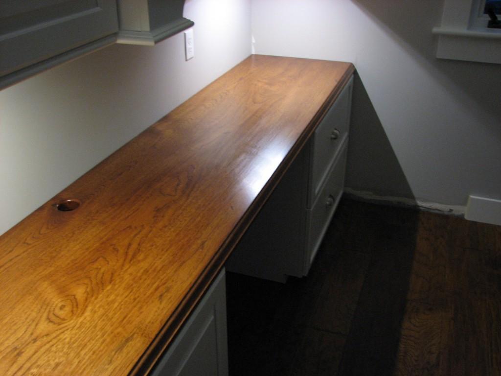 Hickory Desk Top